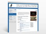 The Gettysburg College Journal of the Civil War Era